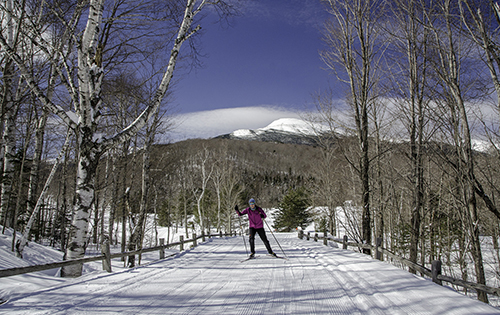 Winter at Great Glen Trails Outdoors Center