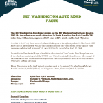 AUTO ROAD FACTS