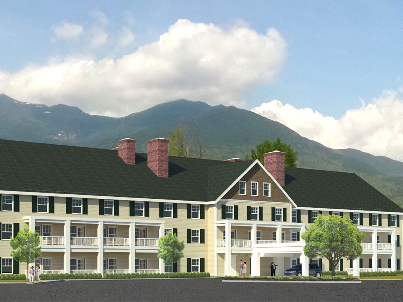 The Mount Washington Summit Road Company Announces The Return Of The Glen House Hotel